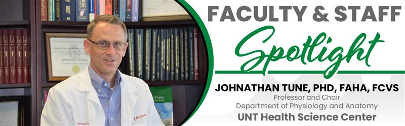 Ask an Expert: Dr. Johnathan Tune, UNT Health Science Center