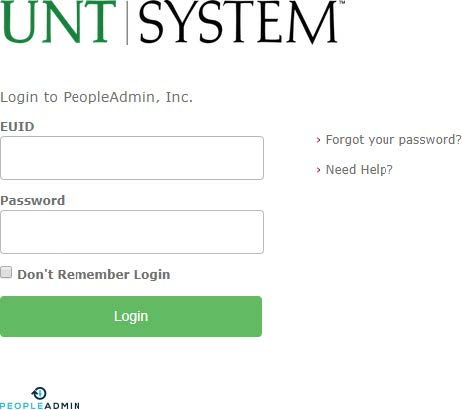 PeopleAdmin login