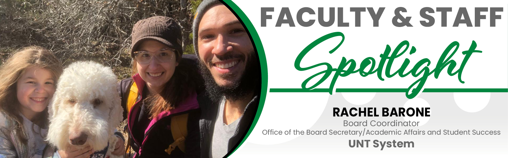 Faculty & Staff Spotlight: Rachel Barone, UNT System