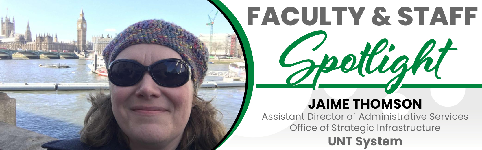 Faculty & Staff Spotlight: Jaime Thomson