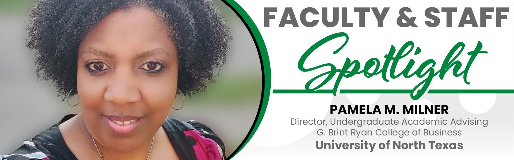 Faculty & Staff Spotlight: Pamela Milner