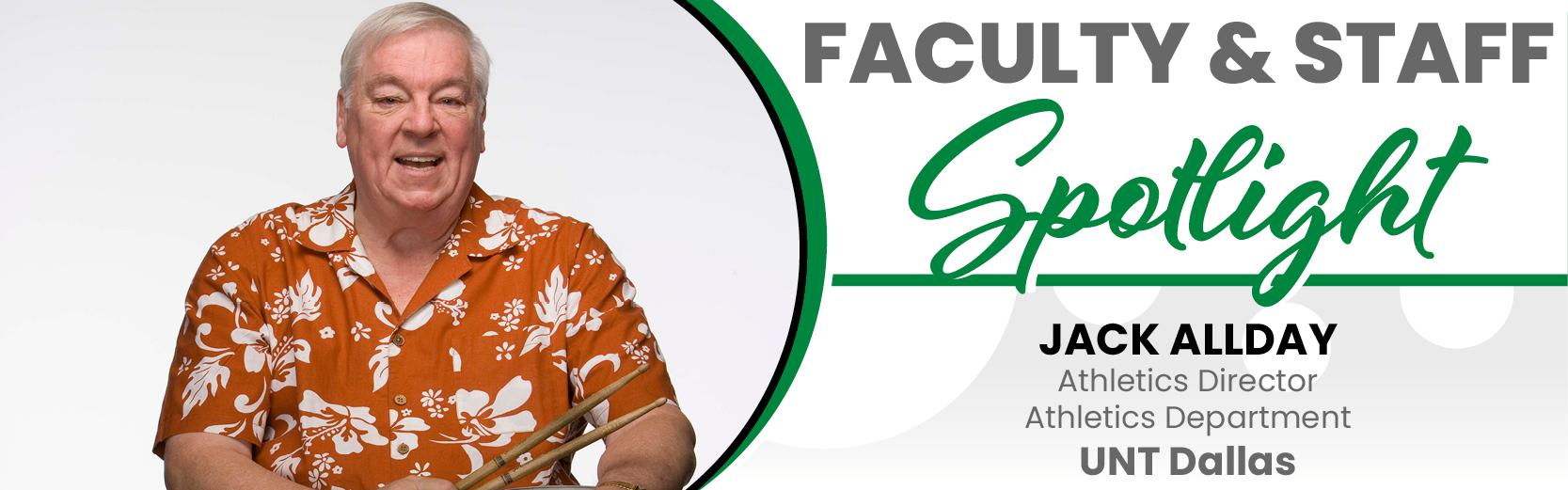Faculty & Staff Spotlight: Jack Allday