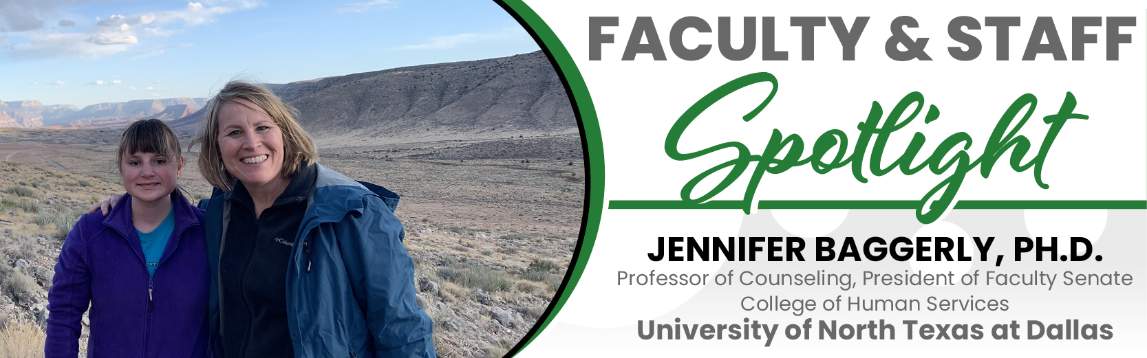 Faculty & Staff Spotlight: Jennifer Baggerly, Ph.D., UNT Dallas